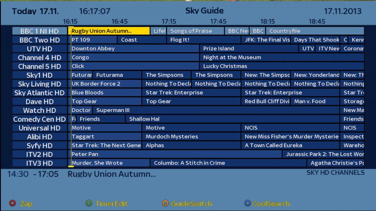 WIP]SKY HD Skin +cool tv guide skin - Skins - Forums